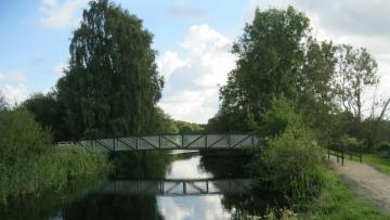 projekt image - Wanderwegbrücke über die Eider