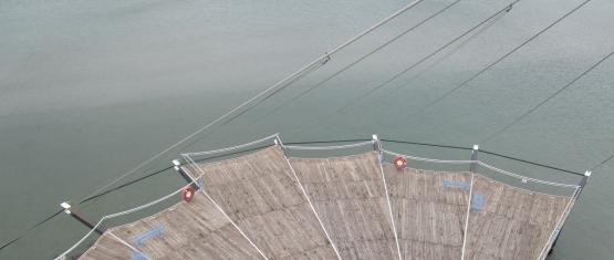02-072 - Seeplattform Hohwachter Flunder Foto 6 - Plattform aus der Vogelperspektive