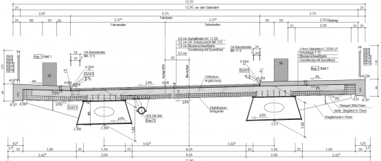 11-035 Stahlverbund-Brücke K 59 über DB Foto 2