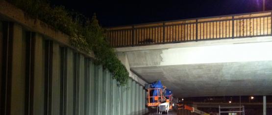 15-099 Brückeninstandsetzung unter Vollsperrung in der Nacht