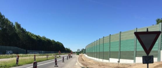17-0009 Neubau Lärmschutzwand