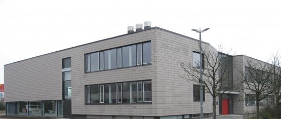 Eingangsbereich Mensa Multifunktionsgebäude Mettenhof