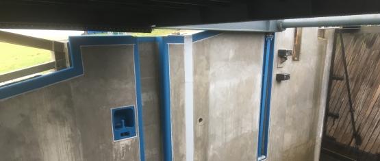 Foto 11 - Instandgesetzte Sperrwerkswand