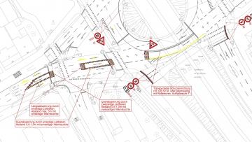 projekt image - Planung der Absicherung von Arbeitsstellen an Straßen