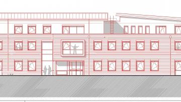 projekt image - Neubau Rathaus Kropp