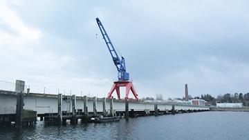 projekt image - Seebrücke Eckernförde mit Hallenbauwerk