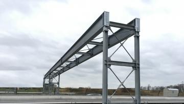 projekt image - Herstellung einer Rohrleitungsbrücke in Brunsbüttel
