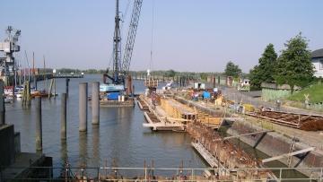 projekt image - Außenhafen Glückstadt – Neubau Kaimauer Abschnitte E und F