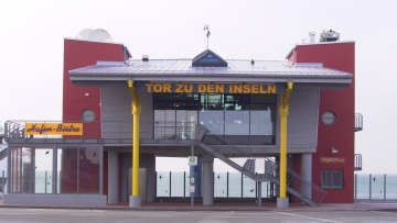 projekt image - Servicegebäude Hafen Dagebüll